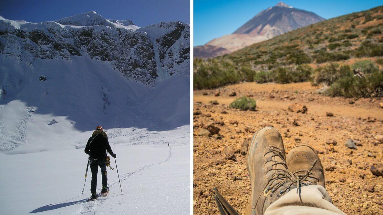 Hiking in Late Fall & Winter