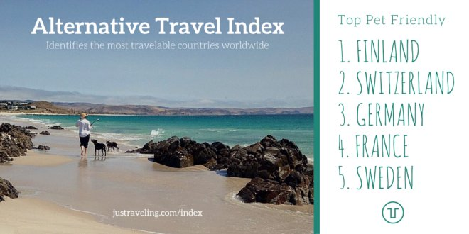 alternative travel index pet friendly