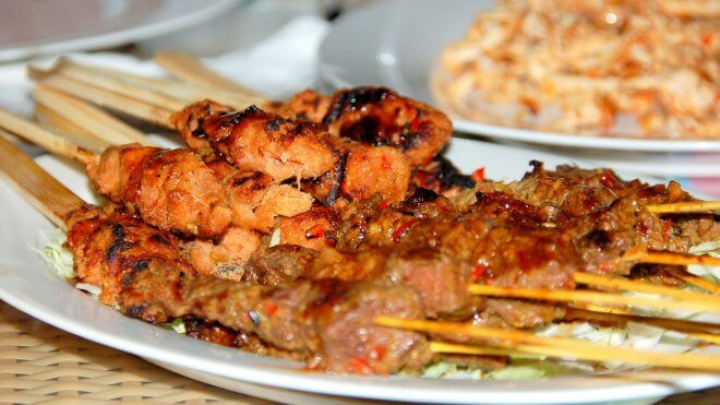 Sate (Satay) Is One of the Most Loved Foods in Bali