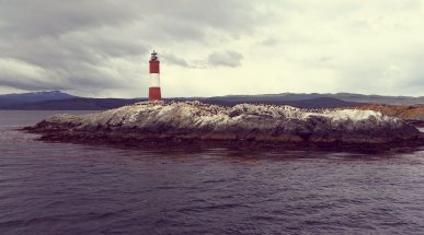 Les Eclaireurs Lighthouse, Tierra del Fuego, Argentina