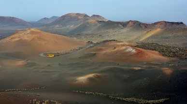 Timanfaya National Park, Lanzarote, Spain