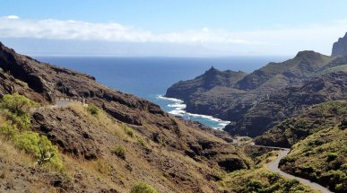 La Gomera Landscape, Canary Islands, Spain