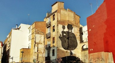 Street Art in Valencia, Spain