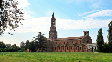 The Abbey of Chiaravalle, Lombardy, Italy