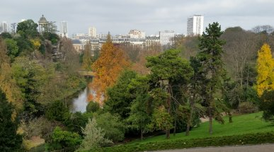 Parc des Buttes-Chaumont, Paris, France