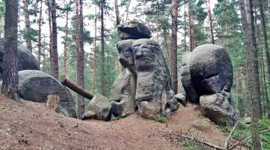 Rock Formations, Bohemian Paradise, Czech Republic