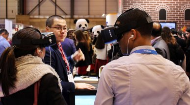 Virtual Reality at FITUR 2017, Madrid, Spain