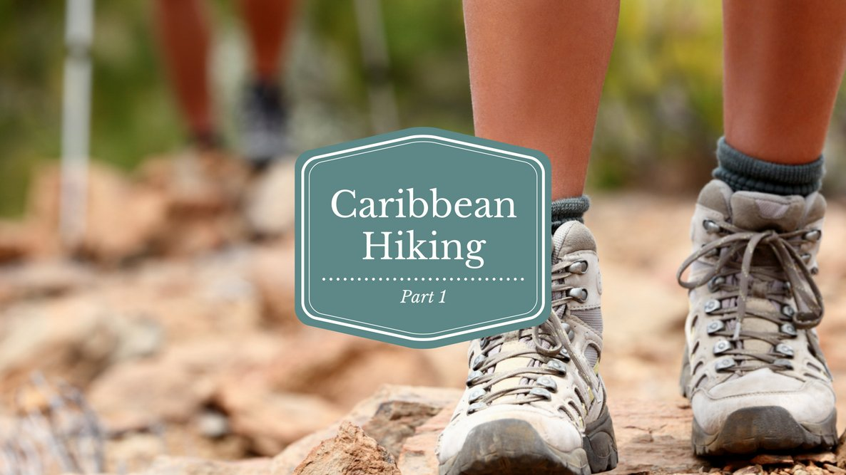 caribbean hiking