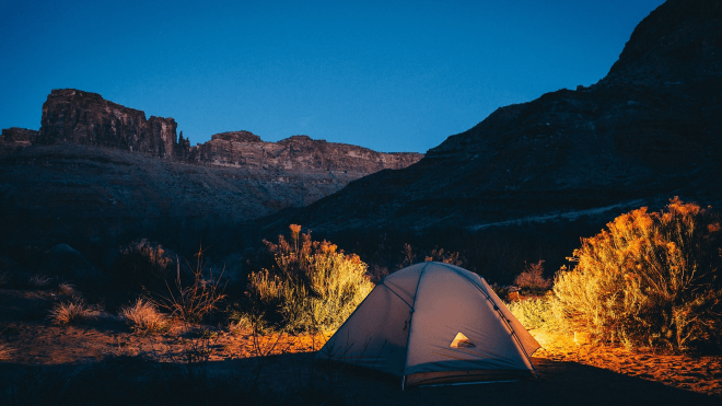 Romantic Camping Ideas - Upper Big Bend Campground