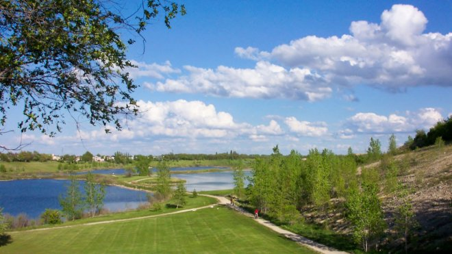 A World of Greenways: Trans Canada Trail at Silver Springs Park, Manitoba