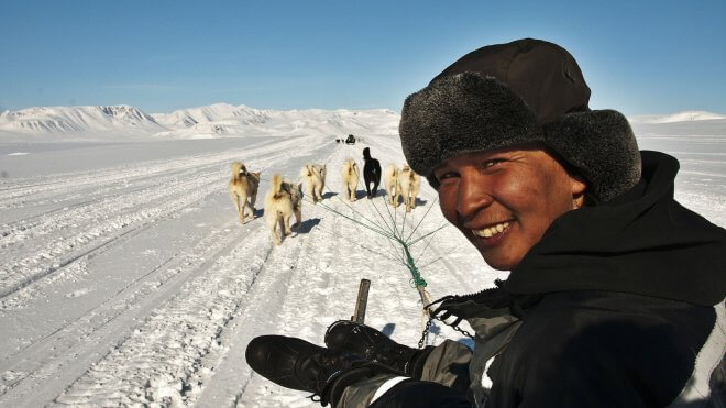 Inuit Hunter of East Greenland
