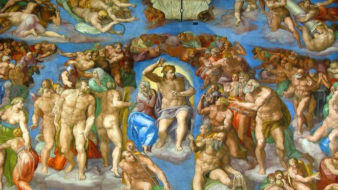 Up Close: Michelangelo's Sistine Chapel Frescos