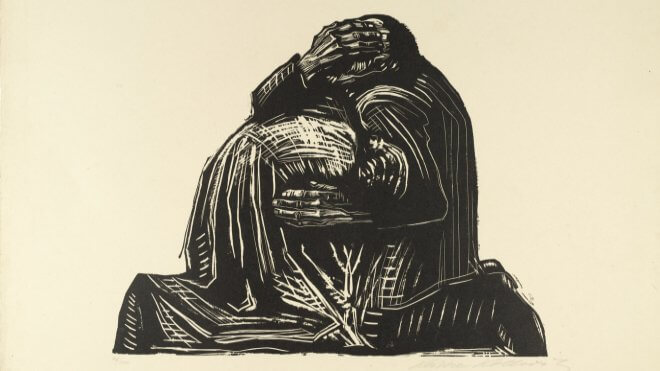 The Parents, Number III by Käthe Kollwitz