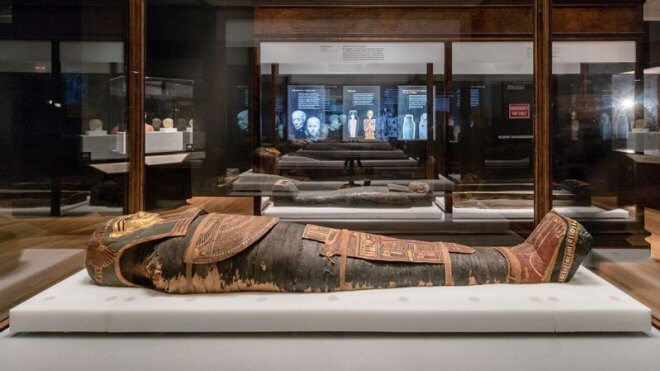 Mummies at AMNH