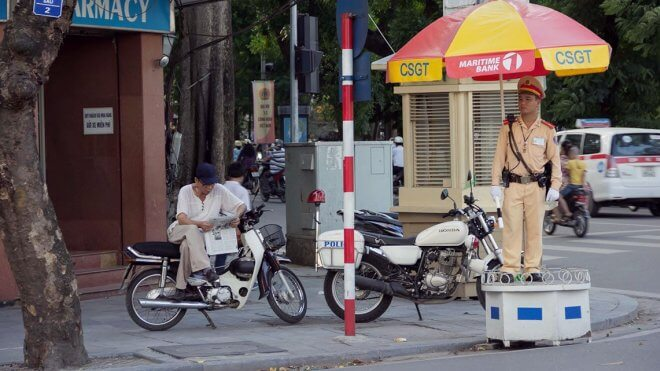 Culture Shock in Vietnam: Paying Off the Police
