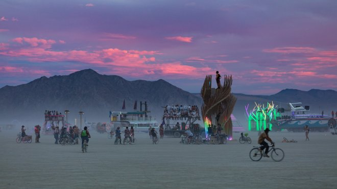 7 Festivals: Burning Man 2016
