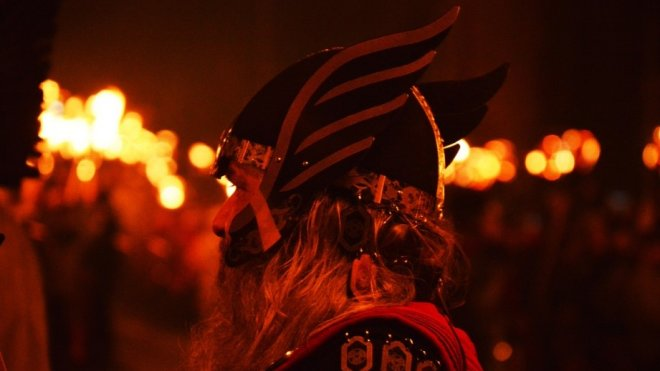 7 Festivals: Up Helly Aa Fire Festival