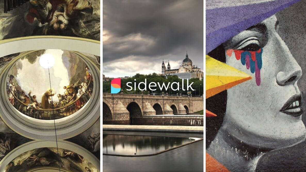 My Madrid Walking Tour on Sidewalk Guide
