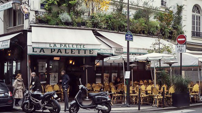 Paris for Art Lovers: Café La Palette