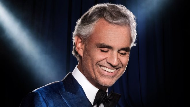 Andrea Bocelli at Madison Square Garden