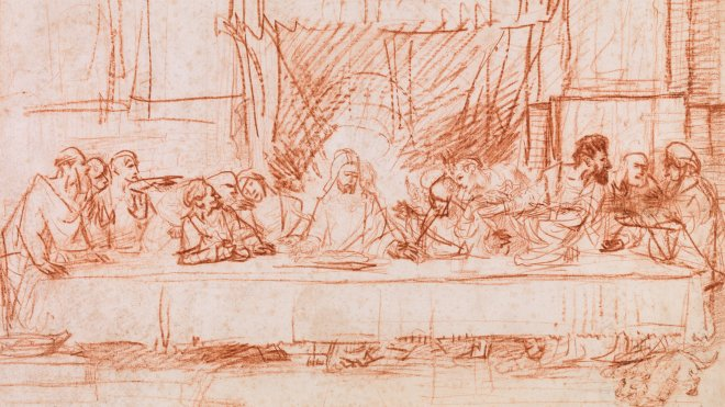 Rembrandt, The Last Supper