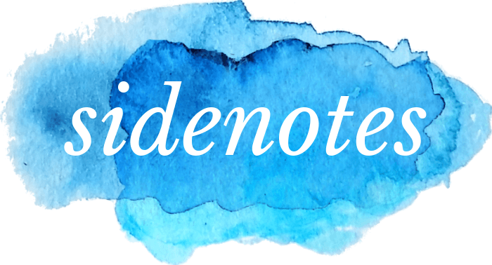 Sidenotes: Facts and Thoughts Beyond Travel