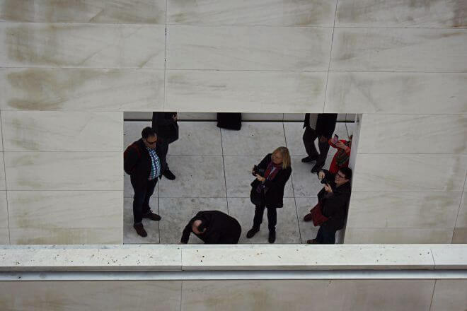 Intermission: Framed Tourists at CaixaForum