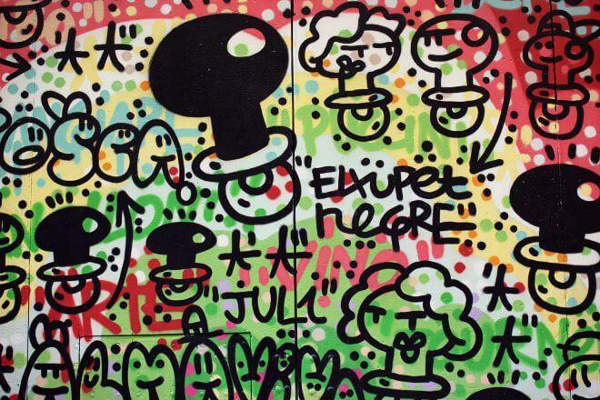 Street Art in Barcelona: Mural by El Xupet Negre