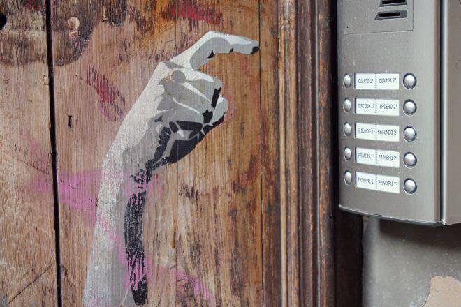Street Art in Barcelona: For Whom the Intercom Tolls