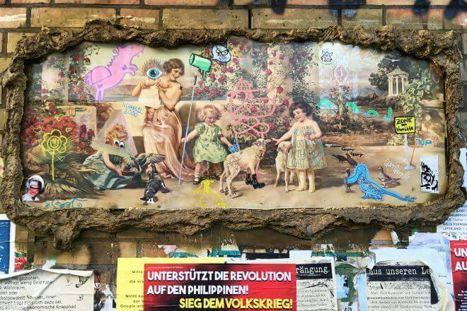 Berlin Street Art: Collective Artwork in Neukölln