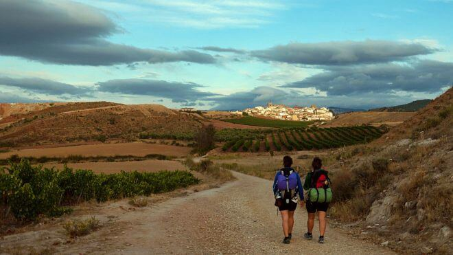 Camino de Santiago: A Village on the Horizon