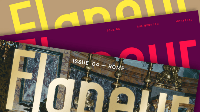 Flaneur Magazine's Covers